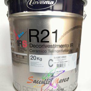 Decorivestimento ceramico R21 BIANCO