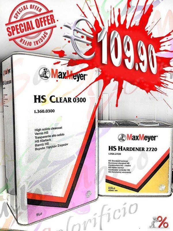 TRASPARENTE 0300+CATALIZZATORE MAX MEYER LT 7.5