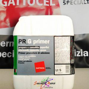 PR G PRIMER prepara e consolida superfici sfarinanti cemento gesso