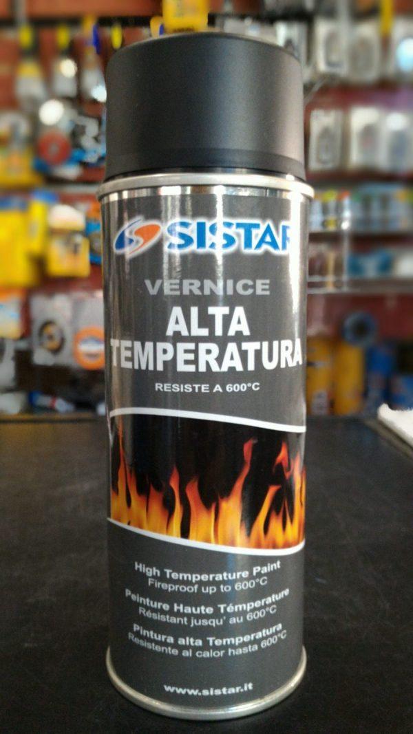 ALTA TEMPERATURA SPRAY NERO OPACO 600°