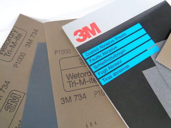 Fogli carta abrasiva 3M