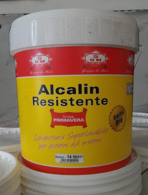 idropittura alcalin resistente